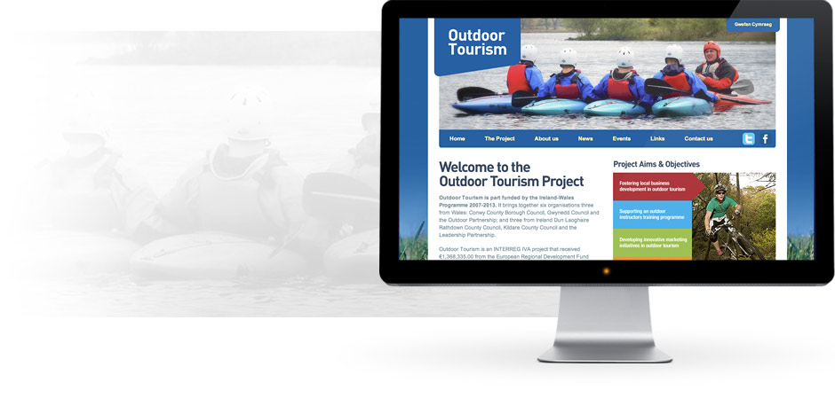 Outdoor Tourism Website