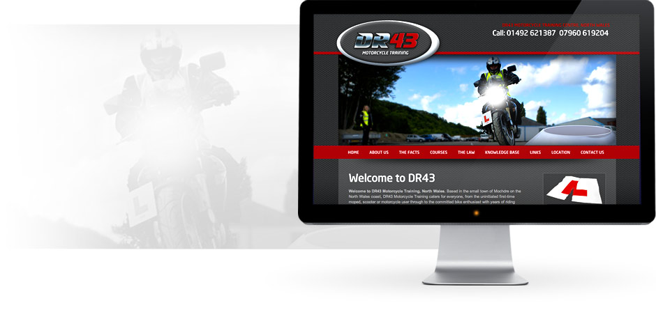 DR43 Website